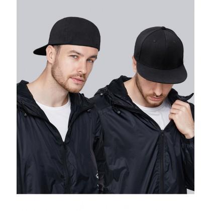 Premium Quality Basic Plain Hip Hop Snapback Cap Close Full Fit